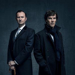 Bild Benedict Cumberbatch, Mark Gatiss