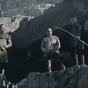 King Arthur: Legend Of The Sword : Bild Aidan Gillen, Charlie Hunnam, Craig McGinlay, Djimon Hounsou, Freddie Fox