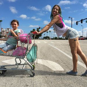 The Florida Project : Bild Bria Vinaite, Brooklynn Prince