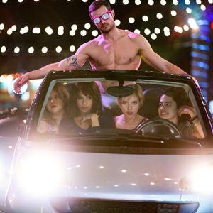 Girls' Night Out : Bild Ilana Glazer, Jillian Bell, Ryan Cooper (XXIII), Scarlett Johansson, Zoë Kravitz