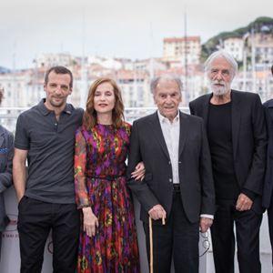 Happy End : Vignette (magazine) Franz Rogowski, Isabelle Huppert, Jean-Louis Trintignant, Mathieu Kassovitz, Michael Haneke