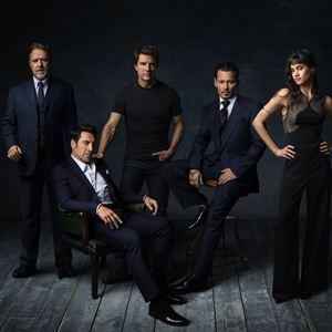 Frankensteins Braut : Vignette (magazine) Javier Bardem, Johnny Depp, Russell Crowe, Sofia Boutella, Tom Cruise