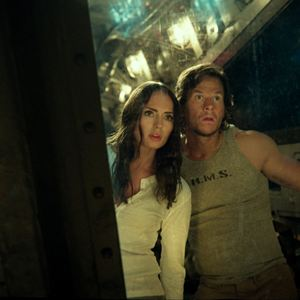 Transformers 5: The Last Knight : Bild Laura Haddock, Mark Wahlberg