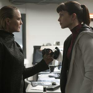 Blade Runner 2049 : Bild Robin Wright, Sylvia Hoeks