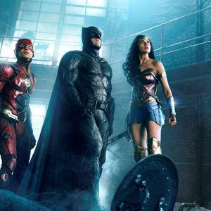 Justice League : Bild Ben Affleck, Ezra Miller, Gal Gadot