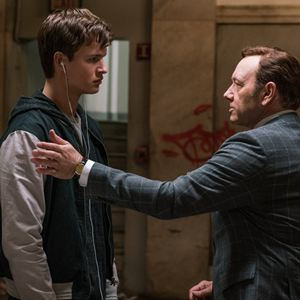 Baby Driver : Bild Ansel Elgort, Kevin Spacey