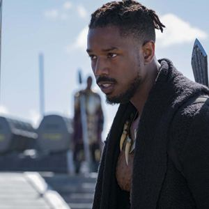 Black Panther : Bild Michael B. Jordan