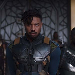 Black Panther : Bild Daniel Kaluuya, Michael B. Jordan
