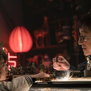 The LEGO Ninjago Movie : Bild Jackie Chan, Kaan Guldur