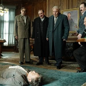 The Death of Stalin : Bild Adrian McLoughlin, Jeffrey Tambor, Paul Whitehouse, Simon Russell Beale, Steve Buscemi