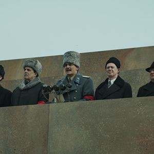 The Death of Stalin : Bild Jeffrey Tambor, Michael Palin, Rupert Friend, Simon Russell Beale, Steve Buscemi