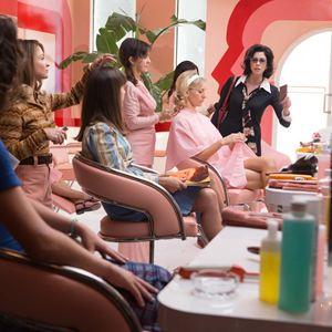 Battle Of The Sexes - Gegen jede Regel : Bild Andrea Riseborough, Emma Stone, Sarah Silverman