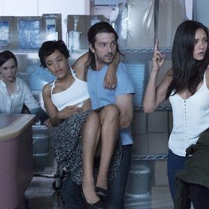 Flatliners : Bild Diego Luna, Ellen Page, Kiersey Clemons, Nina Dobrev