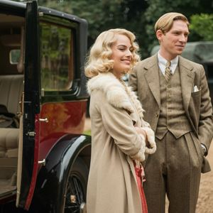 Goodbye Christopher Robin : Bild Domhnall Gleeson, Margot Robbie