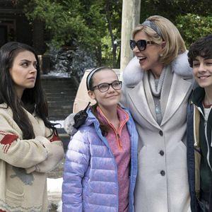 Bad Moms 2 : Bild Christine Baranski, Emjay Anthony, Mila Kunis, Oona Laurence