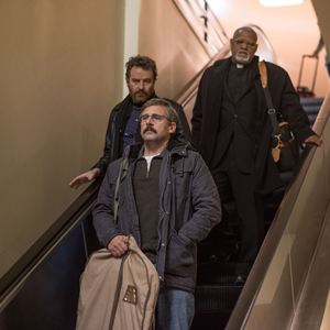 Last Flag Flying : Bild Bryan Cranston, Laurence Fishburne, Steve Carell