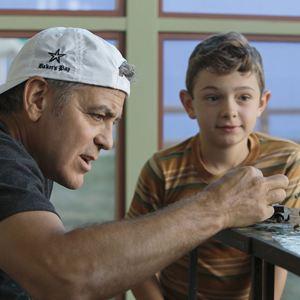 Suburbicon : Bild George Clooney, Noah Jupe