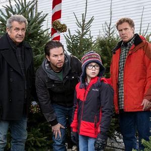 Daddy's Home 2 - Mehr Väter, mehr Probleme! : Bild Mark Wahlberg, Mel Gibson, Owen Vaccaro, Will Ferrell