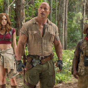 Jumanji: Willkommen im Dschungel : Bild Dwayne Johnson, Karen Gillan, Kevin Hart