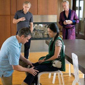 Downsizing : Bild Christoph Waltz, Hong Chau, Matt Damon, Udo Kier