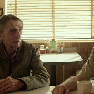 Lucky : Bild Harry Dean Stanton, Tom Skerritt