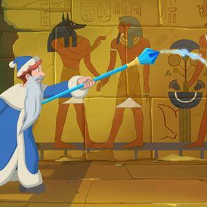 Drei Helden und die ägyptische Prinzessin : Bild
