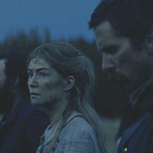 Feinde - Hostiles : Bild Bill Camp, Christian Bale, Rosamund Pike, Timothée Chalamet