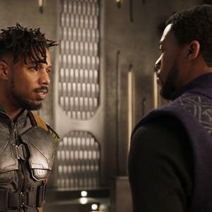 Black Panther : Bild Chadwick Boseman, Michael B. Jordan