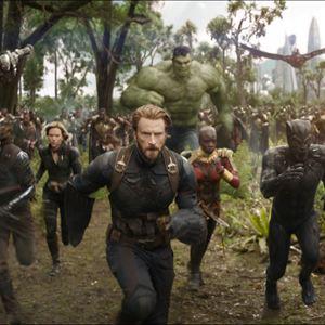 Avengers 3: Infinity War : Bild Anthony Mackie, Chadwick Boseman, Chris Evans, Danai Gurira, Don Cheadle