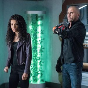 Bild Dominic Purcell, Maisie Richardson-Sellers