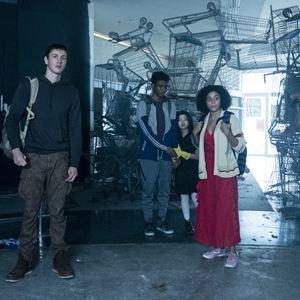 The Darkest Minds - Die Überlebenden : Bild Amandla Stenberg, Harris Dickinson, Miya Cech, Skylan Brooks