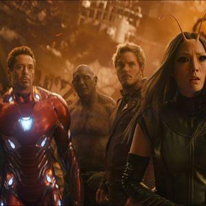 Avengers 3: Infinity War : Bild Chris Pratt, Dave Bautista, Pom Klementieff, Robert Downey Jr., Tom Holland