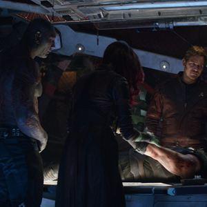 Avengers 3: Infinity War : Bild Chris Hemsworth, Chris Pratt, Dave Bautista