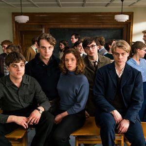 Das schweigende Klassenzimmer : Bild Isaiah Michalski, Jonas Dassler, Lena Klenke, Leonard Scheicher, Tom Gramenz