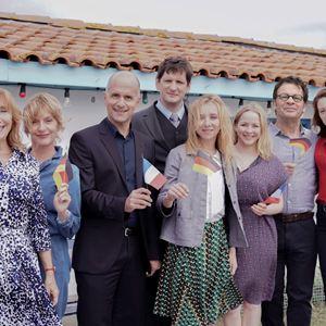 Bild Christoph Maria Herbst, Jasmin Schwiers, Marie-Anne Chazel, Philippe Lelièvre, Roxane Duran