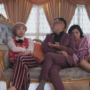 Crazy Rich : Bild Awkwafina, Constance Wu, Nico Santos