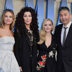 Mamma Mia 2: Here We Go Again : Vignette (magazine) Amanda Seyfried, Cher, Lily James, Ol Parker