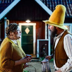 Pettersson und Findus - Findus zieht um : Bild Marianne Sägebrecht, Stefan Kurt