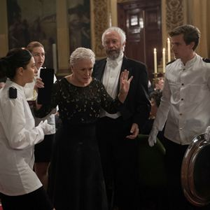 Die Frau des Nobelpreisträgers : Bild Glenn Close, Jonathan Pryce
