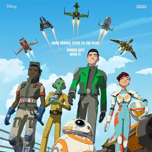 Star Wars Resistance : Kinoposter