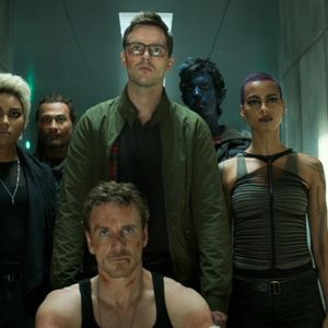 X-Men : Dark Phoenix : Bild Alexandra Shipp, Andrew Stehlin, Kodi Smit-McPhee, Kota Eberhardt, Michael Fassbender