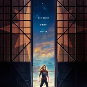 Captain Marvel : Kinoposter