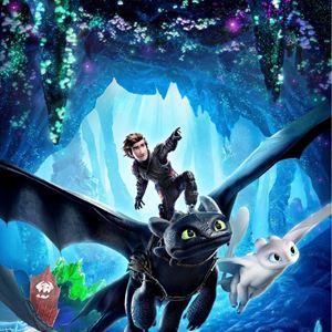 Drachenzähmen leicht gemacht 3: Die geheime Welt : Kinoposter