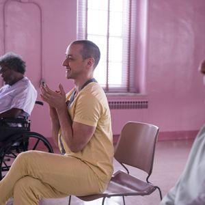 Glass : Bild Bruce Willis, James McAvoy, Samuel L. Jackson