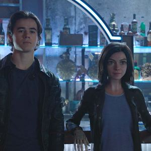Alita: Battle Angel : Bild Keean Johnson, Rosa Salazar