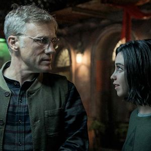 Alita: Battle Angel : Bild Christoph Waltz, Rosa Salazar