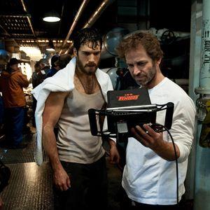 Man Of Steel : Bild Henry Cavill, Zack Snyder