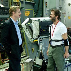 Man Of Steel : Bild Christopher Nolan, Zack Snyder