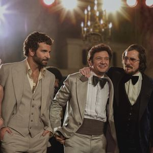 American Hustle : Bild Amy Adams, Bradley Cooper, Christian Bale, Jennifer Lawrence, Jeremy Renner