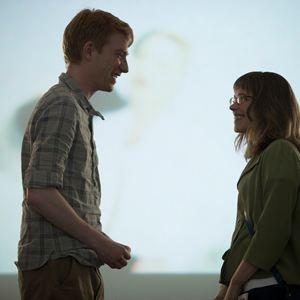 Alles eine Frage der Zeit : Bild Domhnall Gleeson, Rachel McAdams